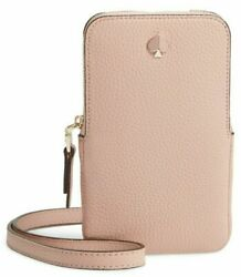 98687342568 Kate Spade New York Polly Phone Crossbody for iPhone Flapper Pink $99.99