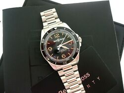 Bell And Ross Heritage Automatic 41 Mm Auto Watch Retails @ 3400