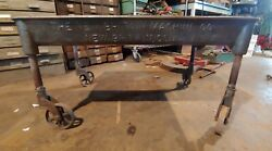Antique Industrial Oil Pan Tray Made By The New Britain Machine Co Lathe Pan