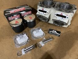 Seadoo 947 951 Gsx Limited Carb White Cylinder 1997.5 Wossner Piston Kit 143