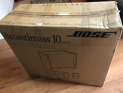 Bose Acoustimass 10 Series Iv Speaker System Mint Condition In A Box Bose Sound