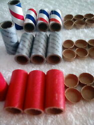 Firecracker Labels 12 Tubes Shells And 24 Paper Plugs Heavy Duty Labels Only
