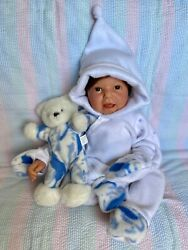 Lee Middleton Doll Sweet Baby Sculpt Warm And Cuddly Brown Hair And Eyes