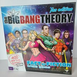 The Big Bang Theory Fan Edition Fact Or Fiction Trivia Game