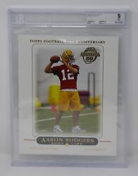2005 Packers Topps Xxl 2 Aaron Rodgers Rookie 🔥beckett 9 Mint