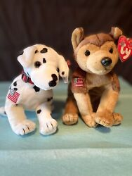 Ty Beanie Babies Retired Rare 2001 Limited Edit W Tag Mint 9/11 Rescue Beanies