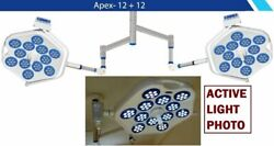 Apex 12+12 Double Dome Examination Surgical Light Operation Theater Lamp Light