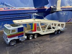 Nylint Car Cl9000 Ford Carrier Semi Trailer Vintage Metal Toy Pressed Steel