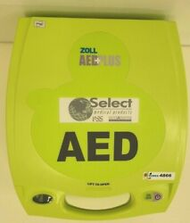 Zoll Aed Plus + Biomed Tested For Functionality Feb 2021 Inv 4866 A3b