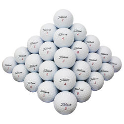 48 Titleist Mix Good Quality Used Golf Balls Aaa In A Free Bucket