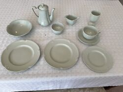 Johnson Brothers Brother's 11 Piece Breakfast Set Greendawn
