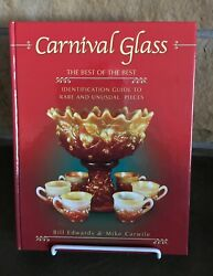 Carnival Glass Identification Guide To Rare And Unusual Pieces Reference Book