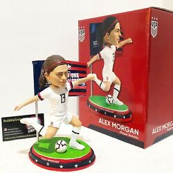 Alex Morgan Uswnt Women's Usa National World Cup Exclusive Soccer Bobblehead