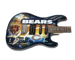 Chicago Bears Woodrow Northender Electric Guitar Limited Addition 84/100