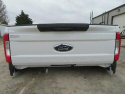 2019 Ford F350sd Super Duty Tailgate Lid Rear Tail Gate Nto White Manual Handle