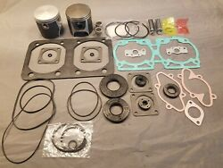 618 Rotax Aircraft Engine Piston Top End Rebuild Kit O/s Bore And Gaskets 76.25mm