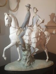 Vintage Lladro Andalucians Group Statue 4647 17