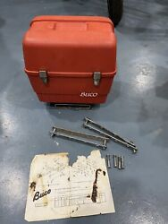 Harley Buco Tour Pack Accessory For 3 Rail Rack. Original Instructions Hardware
