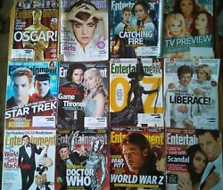 Entertainment Weekly 2013 Lot Of 29. Hunger Games, Fast And Furious, Breaking Bad