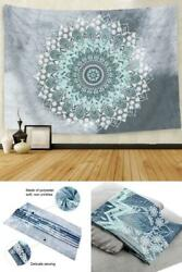 Cootime Mandala Tapestry Hippie Bohemian Flower Psychedelic Indian Dorm Decor