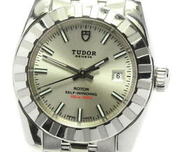 Tudor Classic Date 22010 Cal.2671 Silver Dial Automatic Ladies Watch_603759