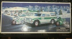 2004 Hess Gasoline Sport Utility Vehicle And Motorcycles Hess Truck New