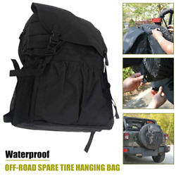1andtimesoff-road Vehicle Suv Spare Tire Hanging Bags Tire Storage Carry Package Cover