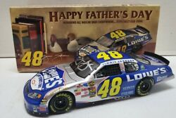Autographed 2004 Jimmie Johnson 48 Lowes Fathers Day 1/24 Nascar Diecast 92/150