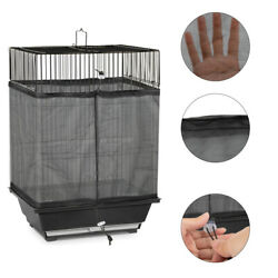 Food Guard Catcher Universal Birdcage Mesh Cover Pet Cage Skirt Supplies