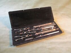 Drawing Instruments, Vintage {technical Drawing} By Temple, England