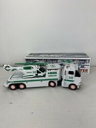 New - 2006 Hess Toy Truck And Helicopter Holiday Set
