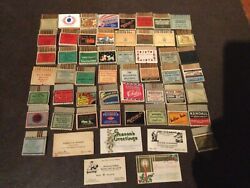 Collection Of 55 Pull Quick Matches Mostly Full 40 Year Collection