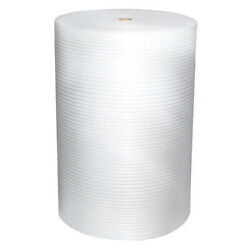 Zoro Select 5vfk9 Adhesive Foam Roll 48 X 625 Ft., Perforated, 1/16 Thickness