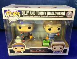 Billy And Tommy Halloween Eccc Exclusive Wandavision Funko Pop