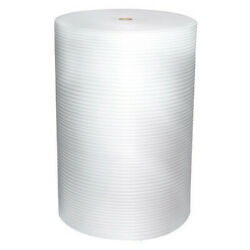 Zoro Select 5vfk4 Cohesive Foam Roll 12 X 625 Ft., Perforated, 1/16