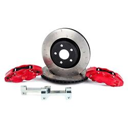 For Jeep Wrangler 07-17 Brake Kit Off Road C-hook Slotted 1-piece Heavy Duty