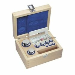 Kern 313-02 E2 1 Mg - 50 G Set Of Weights In Wooden