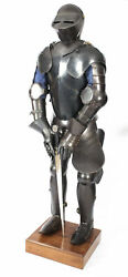 Vintage 16th C Style Complete Suit Of Armour - Castell Gyrn 20th Century
