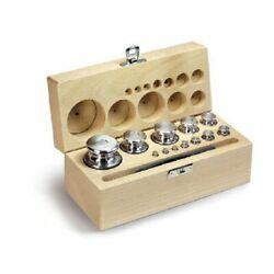 Kern 333-06 F2 1 Mg - 1 Kg Set Of Weights In Wooden