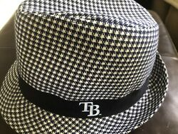 Tampa Bay Rays Baseball Fedora Game Day Giveaway Hat Cap And Rays Car Window Flag