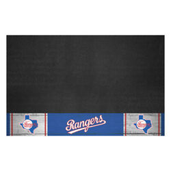Fanmats 2172 Texas Rangers Retro Collection Grill Mat 26in. X 42in. 1984