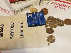 Sealed 100 Mint Bag 2020-p Maryland American Innovation Dollar 100 Coins Unc