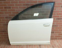 2005-2011 Audi A6 Quattro Left Front Driver Side Door Shell Ibis White Ly9c Oem