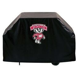 Holland Bar Stool Co. Gc72wi-bdg 72 Wisconsin Badger Grill Cover
