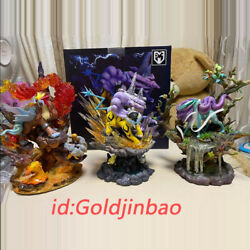 Mfc Studio Entei Statue Suicune Painted Model Raikou Anime Gk In Stock 3pcs New
