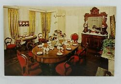 Campbell House Museum Dining Room Postcard