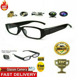 720/1080p Hd Camera Glasses Spy Hidden Mini Dvr Running Eyeglass Video Recorder