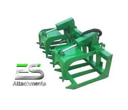Es 66 Grapple- New John Deere Quick Attach Tractor Loader - Local Pick Up