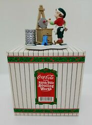 Coca-cola Brand North Pole Bottling Works Big Ambitions Limited Edition Figurine