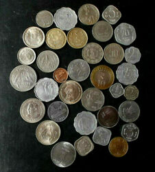 Great Collection Of Coins Of India From 40and039s T0 2000 See Pictures